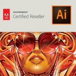 Illustrator CC voor overheid   Enterprise   Verlenging   Engels   Level 12 10 - 49 (VIP Select)