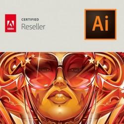 Illustrator CC voor bedrijven | Enterprise | Uitbreiding CC-account | Engels | Level 14 100+ (VIP Select)