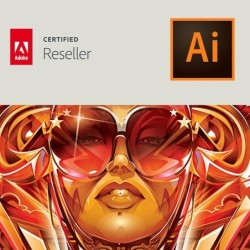 Illustrator CC voor bedrijven | Enterprise | Verlenging | EU talen | Level 14 100+ (VIP Select)