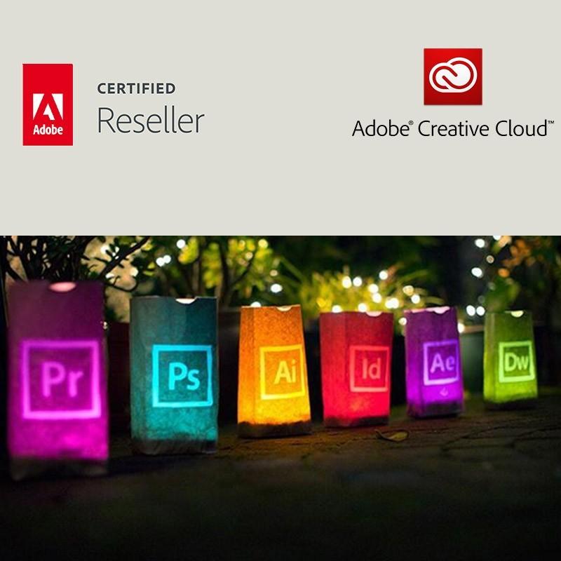 Creative Cloud All Apps voor bedrijven | Enterprise | Nieuw CC-account | Engels | Level 13 50 - 99 (VIP Select)