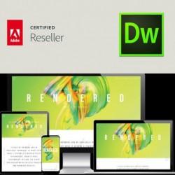 Dreamweaver CC voor bedrijven | Enterprise | Verlenging | Engels | Level 4 100+