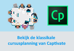 Klassikale Captivate cursus
