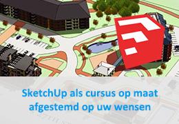 SketchUp Pro als cursus op maat
