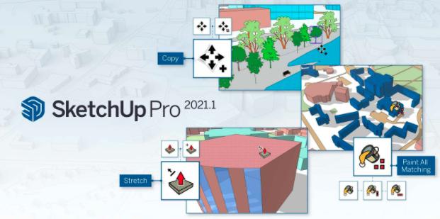 SketchUp Pro nieuw release 2021.1