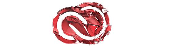 Creative cloud logo artwork