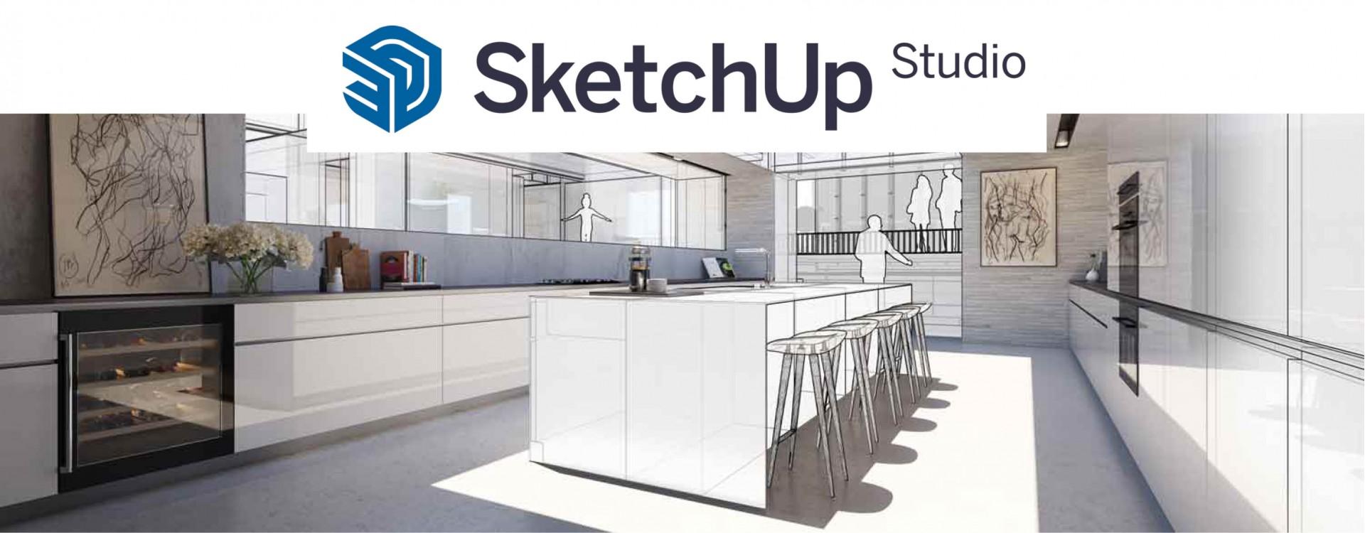 Nieuw. V-Ray in SketchUp Studio