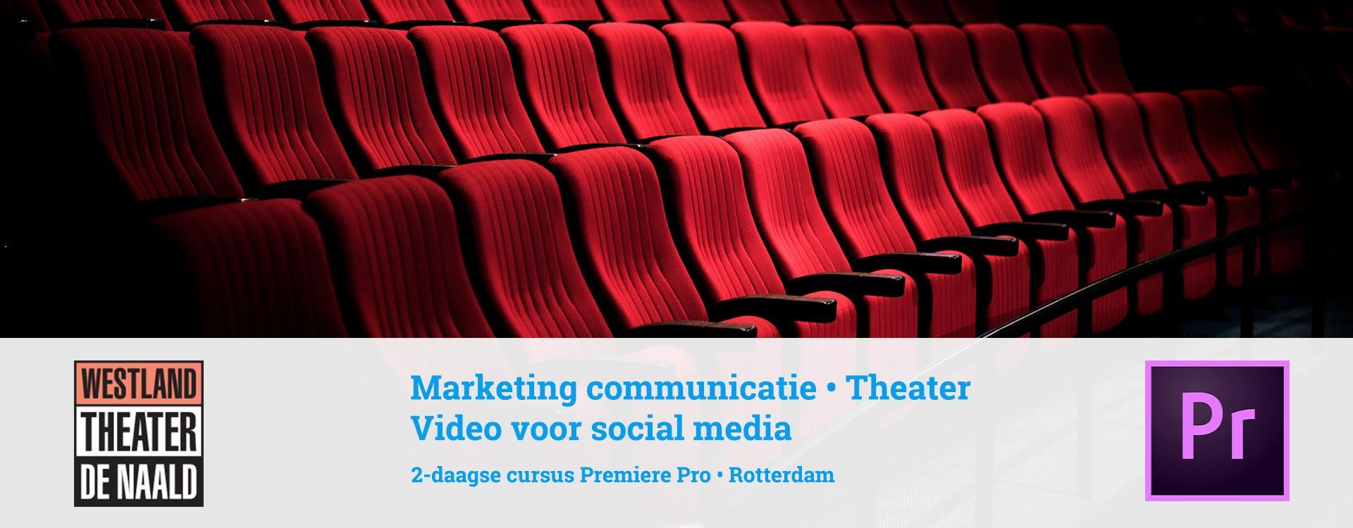 Meer video in social media van theater